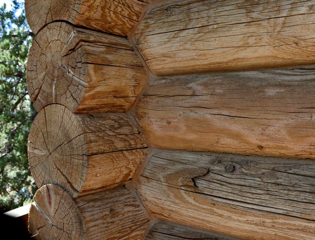 Log Cabin Restoration Sandblasting