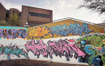 AZ Daily Star Graffiti, Removed by Miracle Maintenance