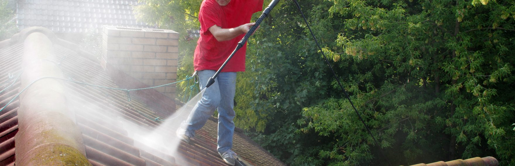 Commercial Pressure Washer Scottsdale Roof cleaning